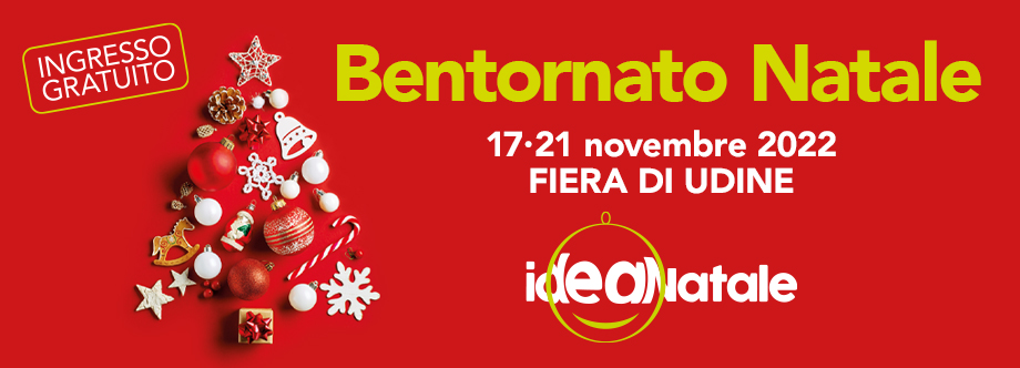 Idea natale home page for Fiera udine 2017